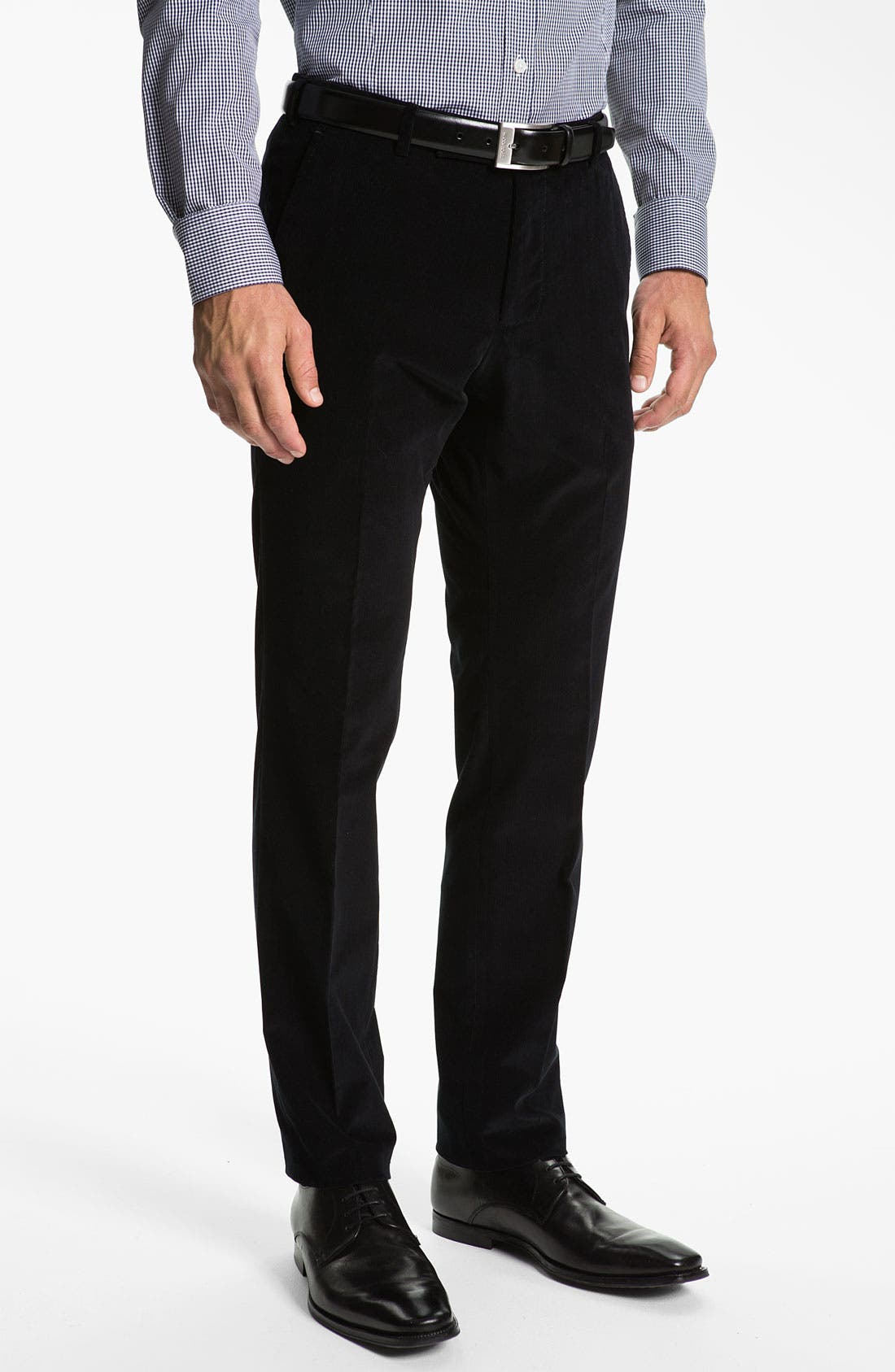 Alternate Image 4  - Z Zegna Extra Trim Fit Corduroy Suit