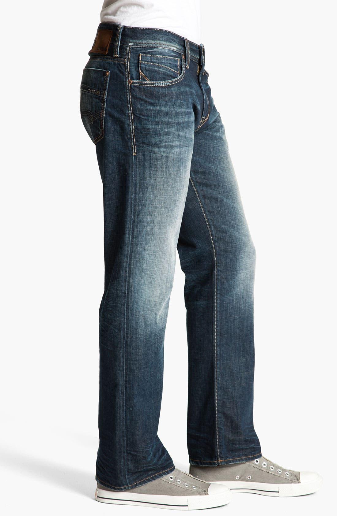 Alternate Image 3  - Mavi Jeans 'Josh' Bootcut Jeans (Deep Indigo American Vintage)