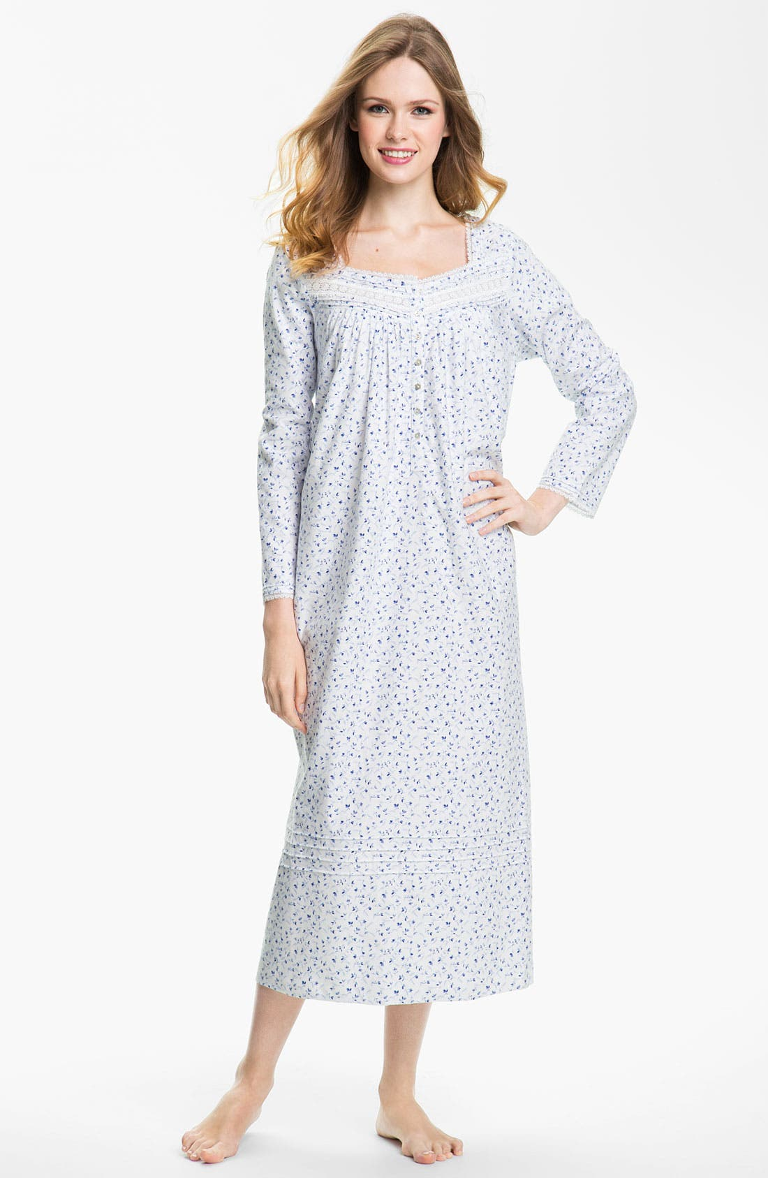 Main Image - Eileen West 'Enchanted Winter' Nightgown