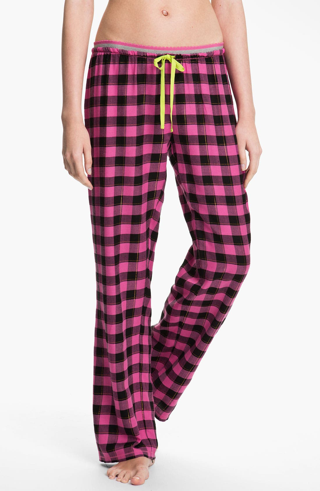 Alternate Image 1 Selected - Steve Madden 'Pattern Play' Plaid Pants