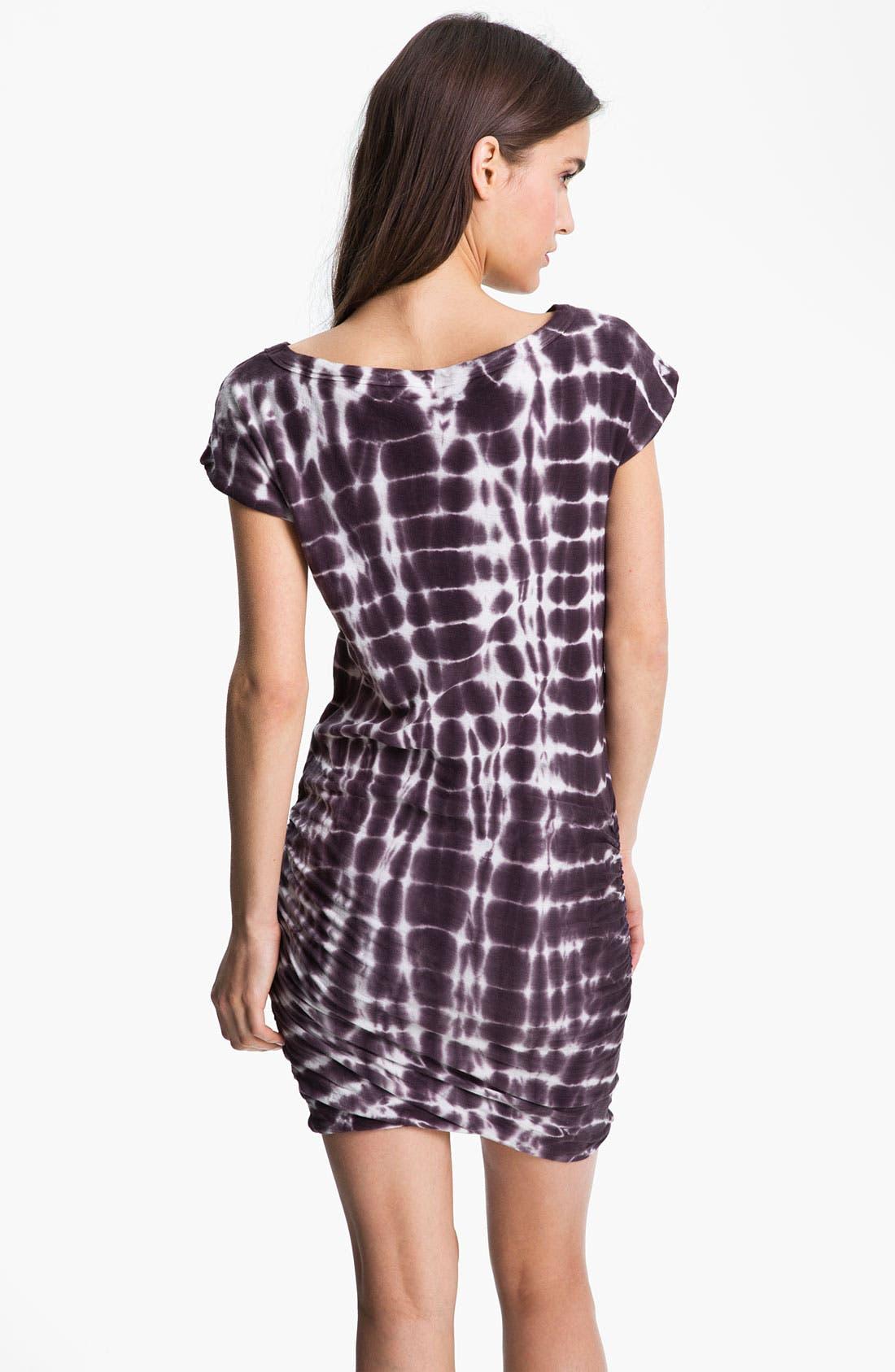 Alternate Image 2  - James Perse Tie Dyed Boatneck Dress