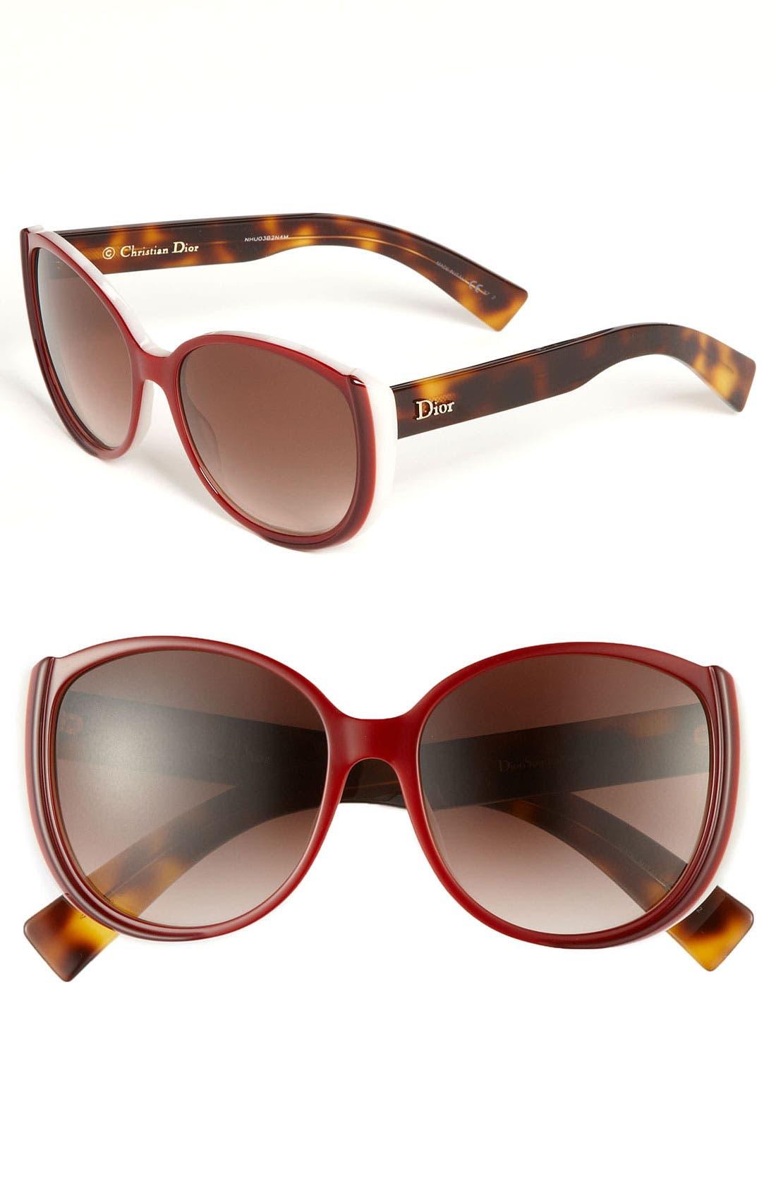 Main Image - Dior 'Summer' 56mm Retro Sunglasses
