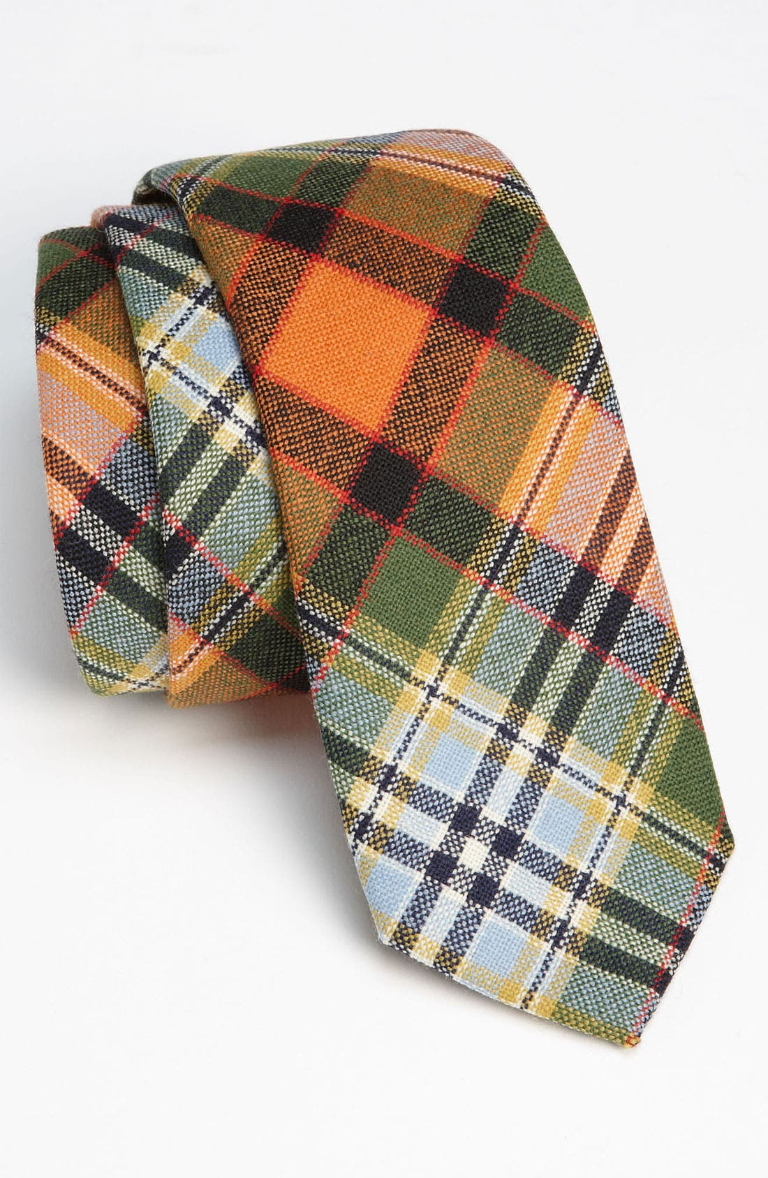 Alternate Image 1 Selected - Gitman Woven Wool Tie