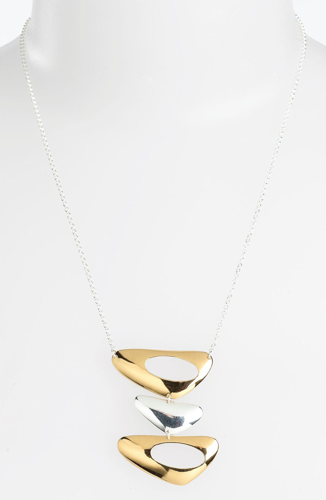 Alternate Image 1 Selected - Argento Vivo 'Metropolis' Triple Link Necklace