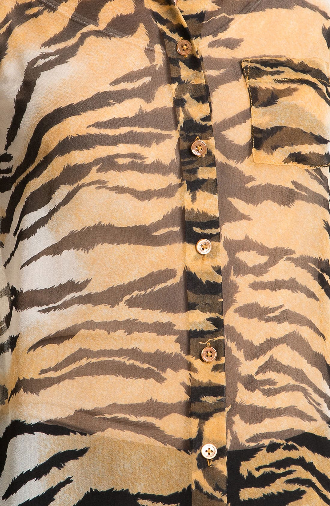 Alternate Image 3  - Equipment 'Bengal' Print Silk Blouse