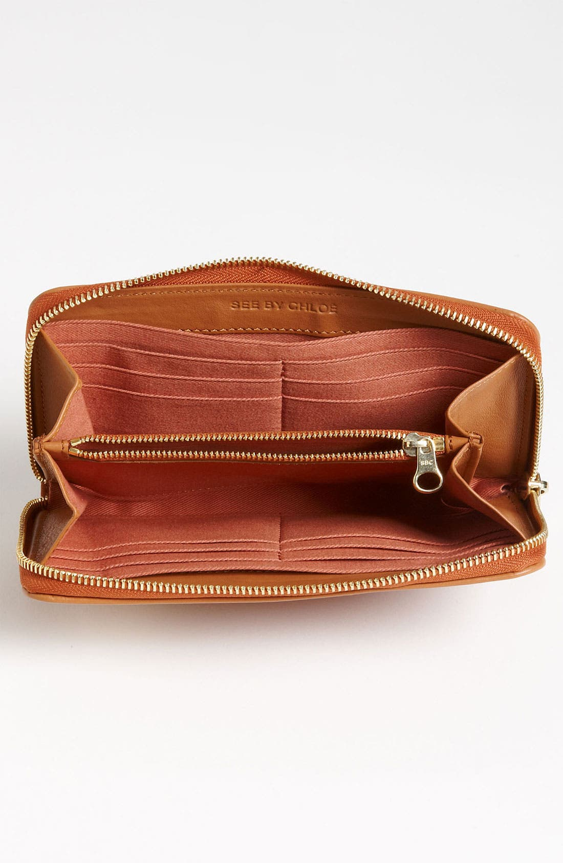 Alternate Image 3  - See By Chloé Long Zip Around Wallet