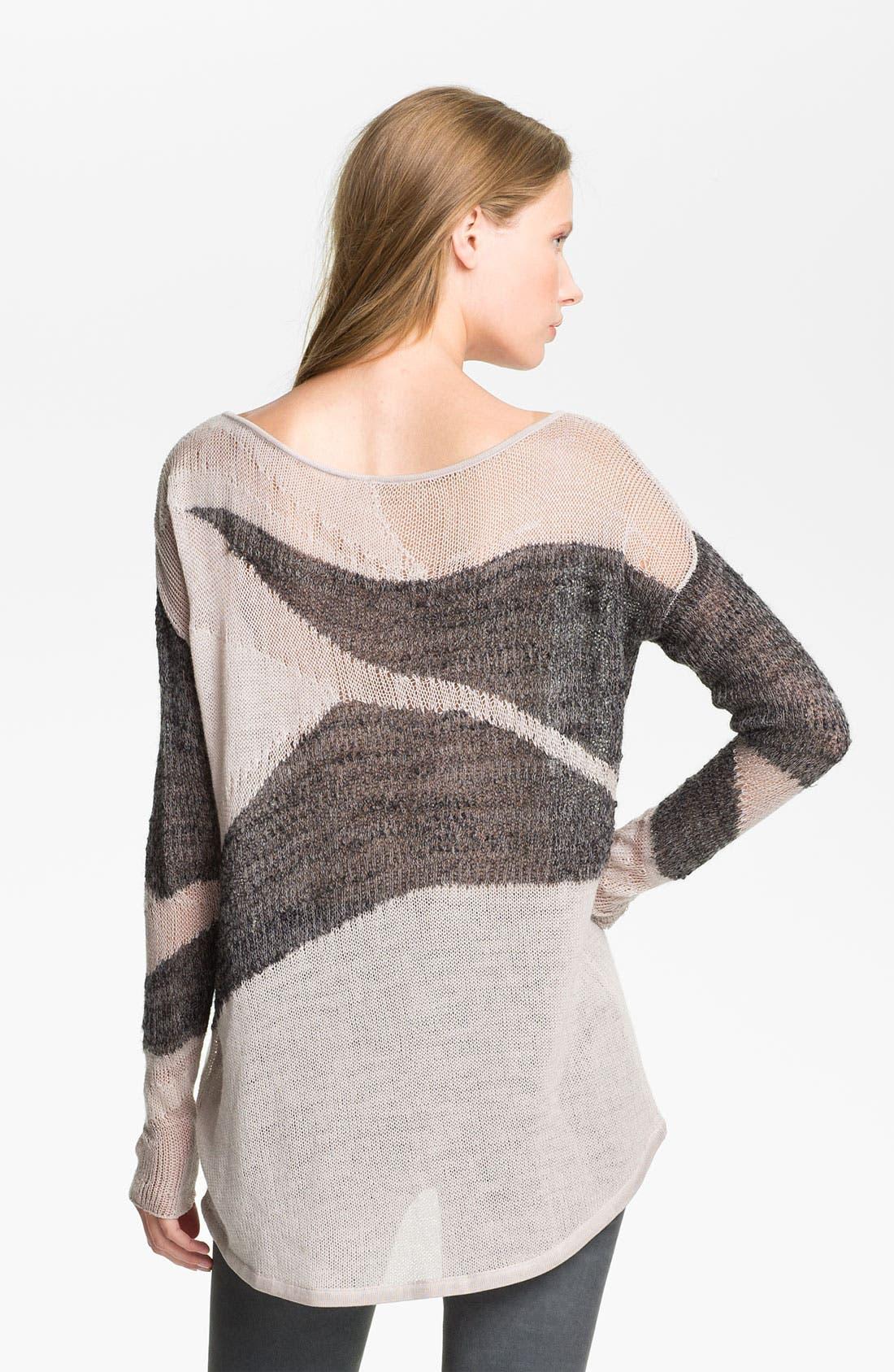Alternate Image 2  - Helmut Lang 'Merging Texture' Sweater