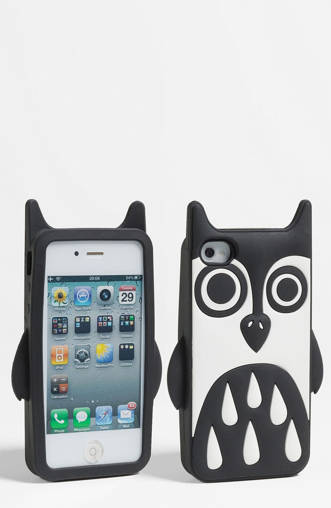 Alternate Image 1 Selected - MARC BY MARC JACOBS 'Javier the Owl' iPhone 4 & 4S Case