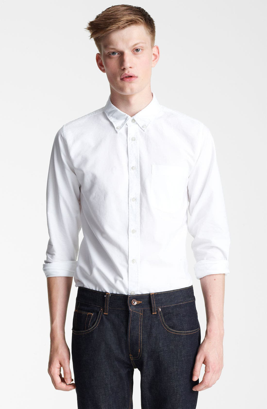 Alternate Image 1 Selected - Topman Oxford Shirt