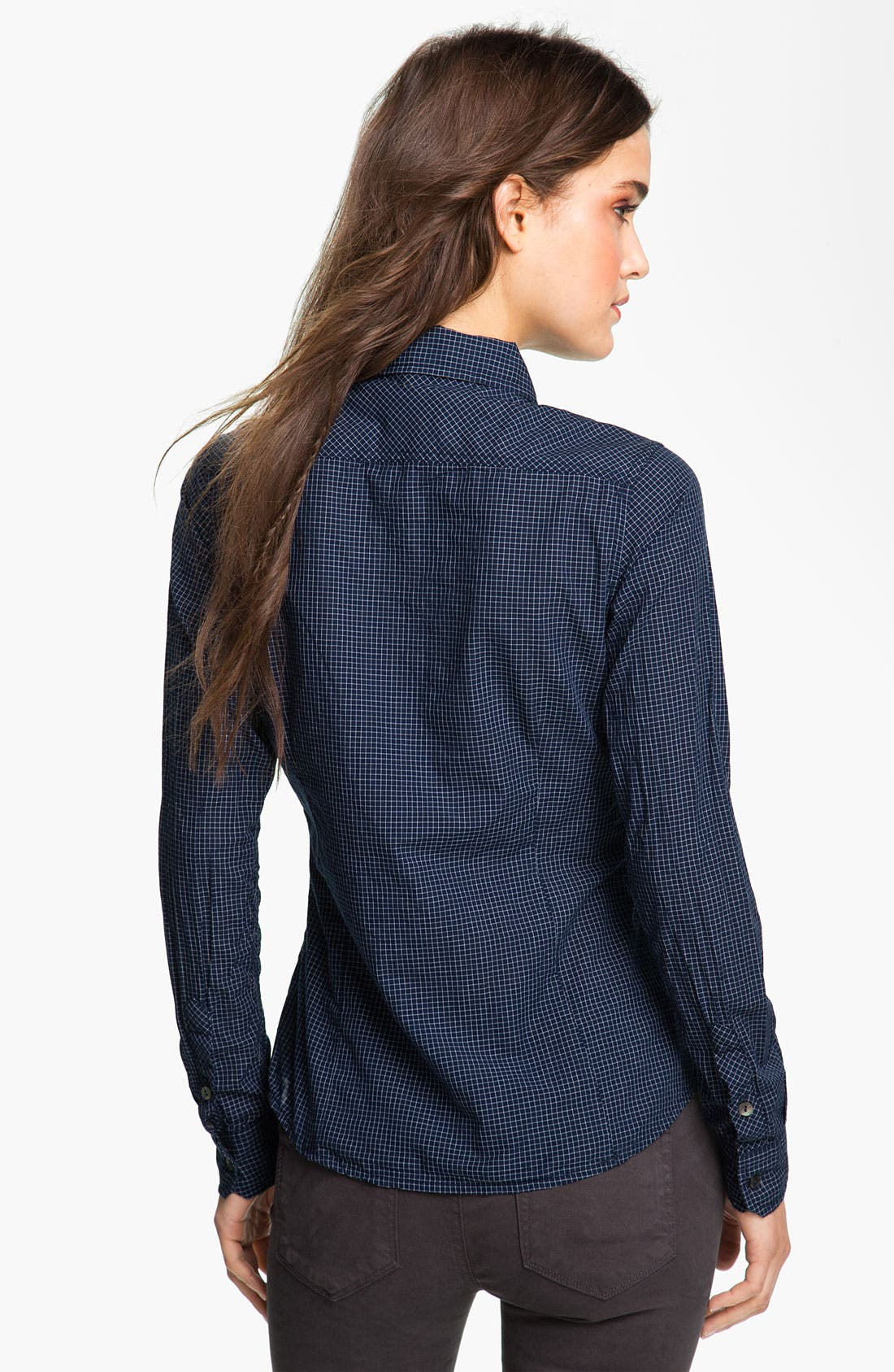 Alternate Image 2  - Maison Scotch Check Shirt