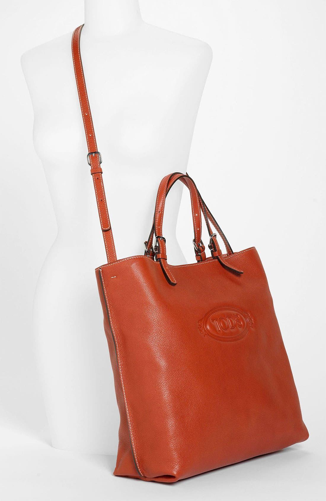 Alternate Image 2  - Tod's 'Logo - Media' Leather Shopper