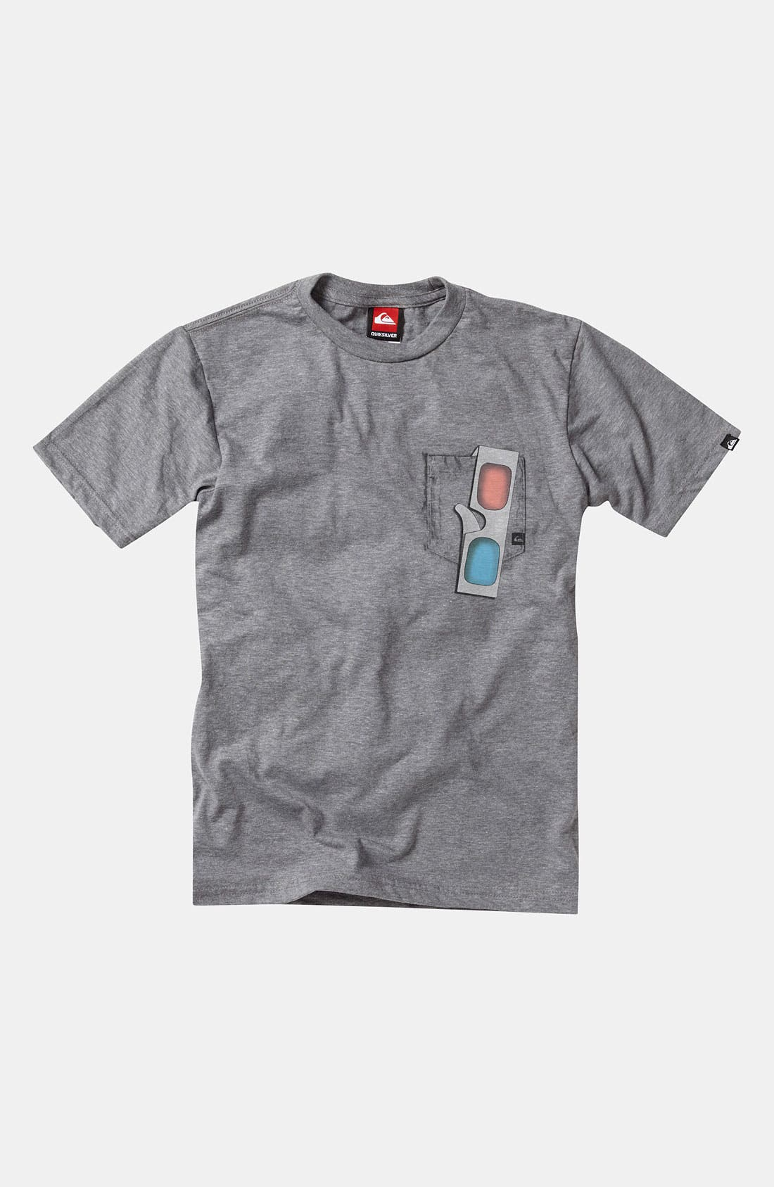 Alternate Image 1 Selected - Quiksilver '3D Fake Out' T-Shirt (Big Boys)