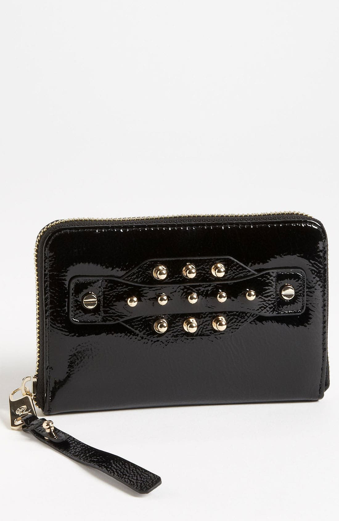 Main Image - McQ by Alexander McQueen Patent Leather Wallet