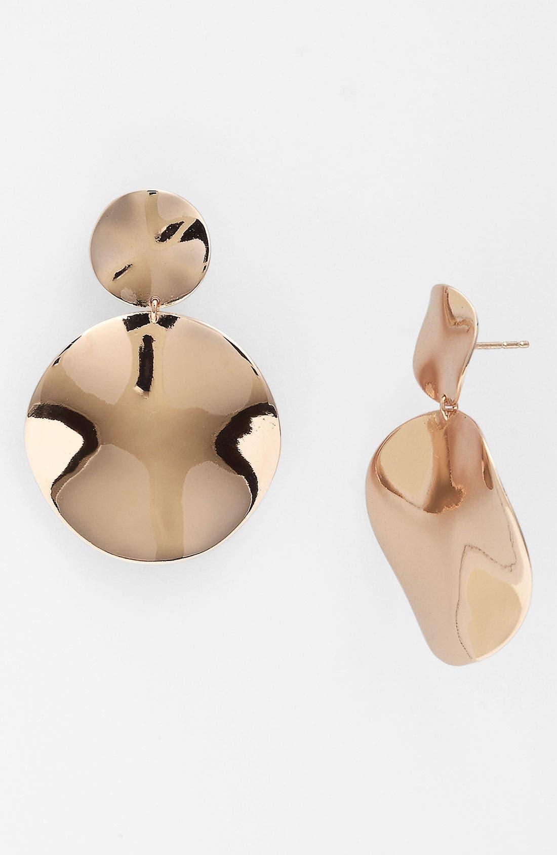 Main Image - Ippolita 'Snowman' Double Drop Wavy Earrings
