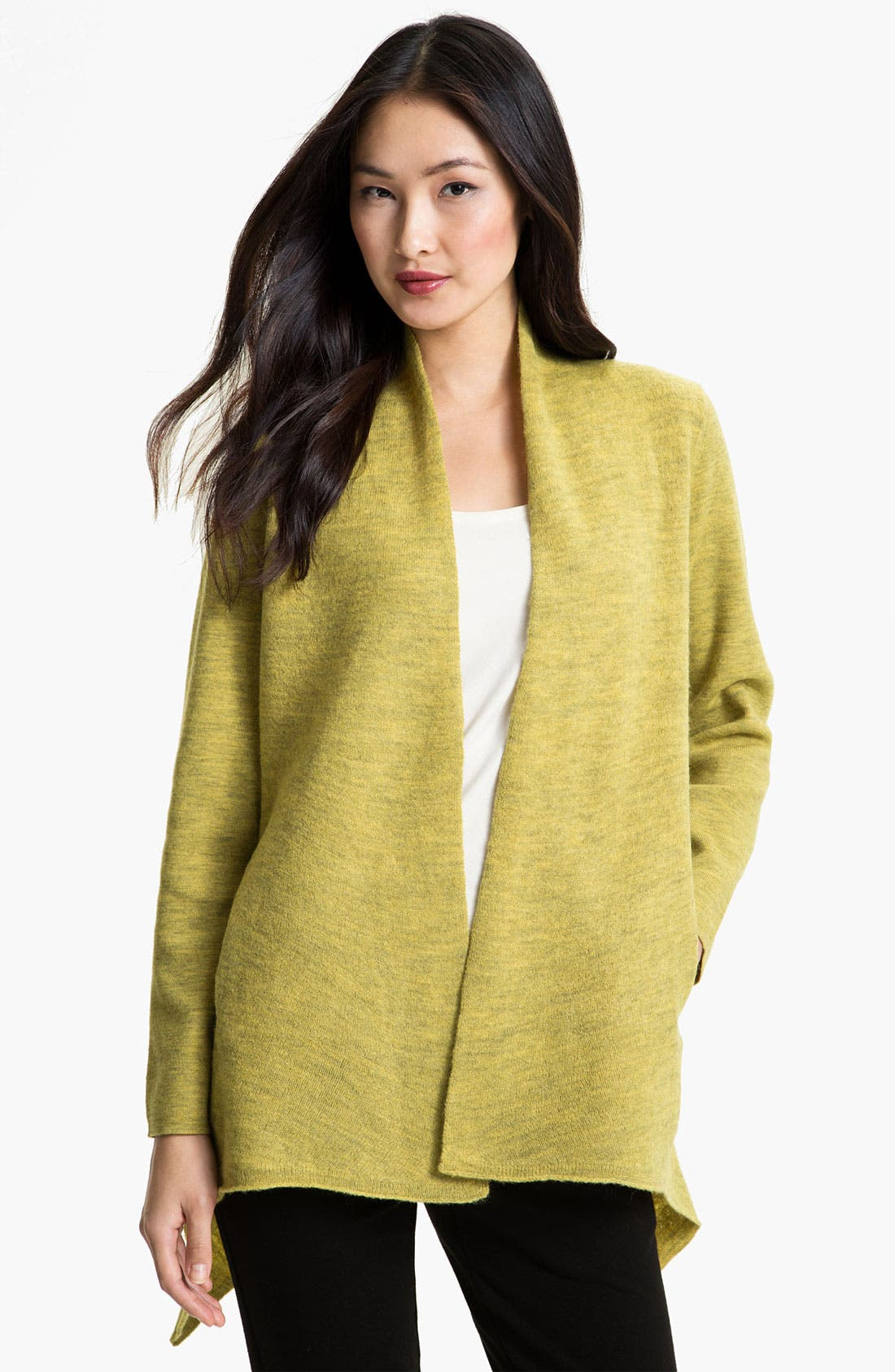 Alternate Image 1 Selected - Eileen Fisher Open Front Jacket