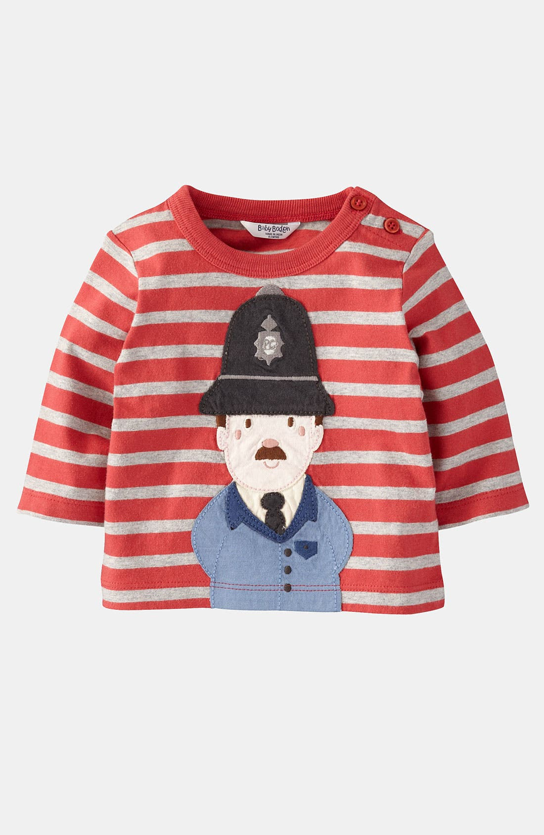 Main Image - Mini Boden 'When I Grow Up' T-Shirt (Infant)