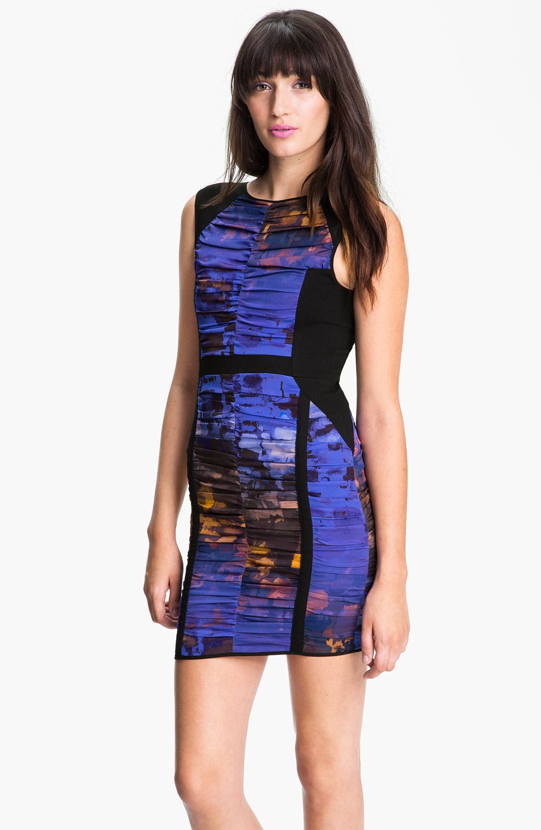 Alternate Image 1 Selected - Rebecca Minkoff 'Madison' Ruched Dress