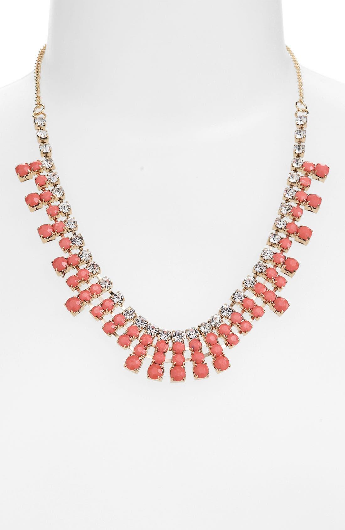 Main Image - BP. Rhinestone Bib Necklace