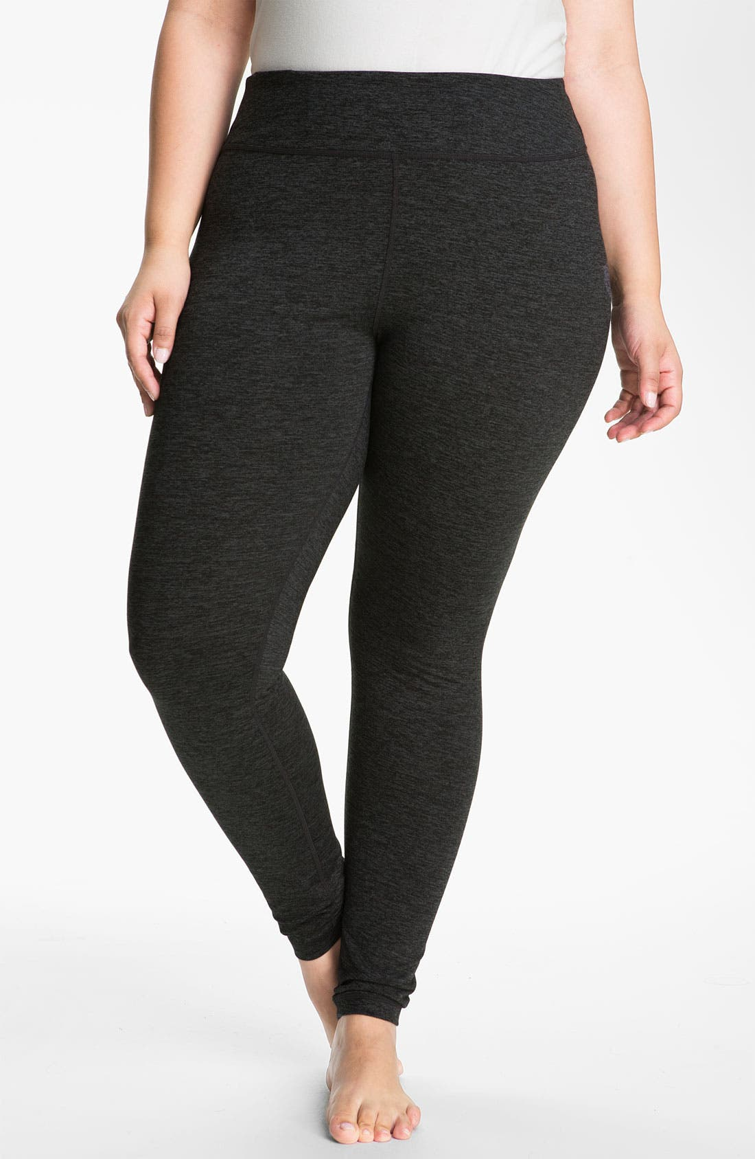 Alternate Image 1 Selected - Zella 'Live In' Cross Dye Leggings (Plus Size)
