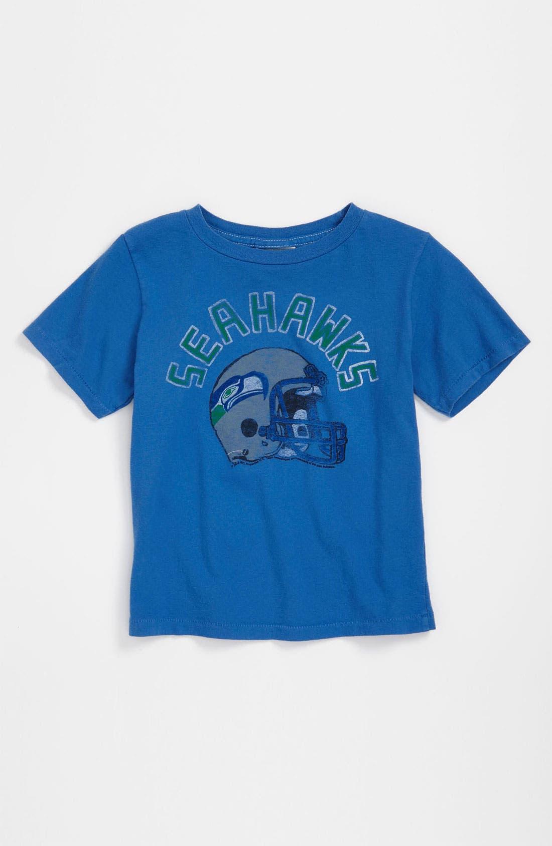 Alternate Image 1 Selected - Junk Food 'Seattle Seahawks' T-Shirt (Infant)
