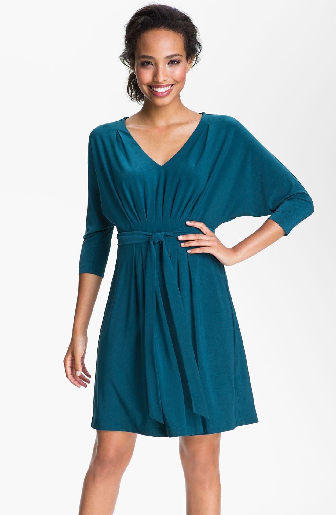 Main Image - Alex & Ava Dolman Sleeve Jersey Dress