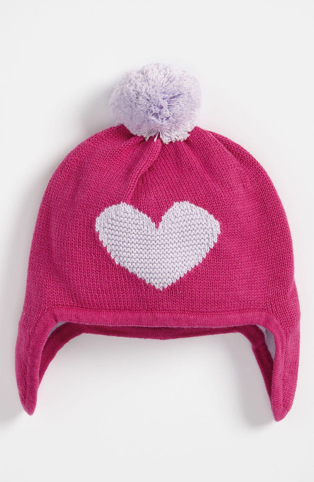 Alternate Image 1 Selected - Nordstrom Baby Earflap Hat (Infant)
