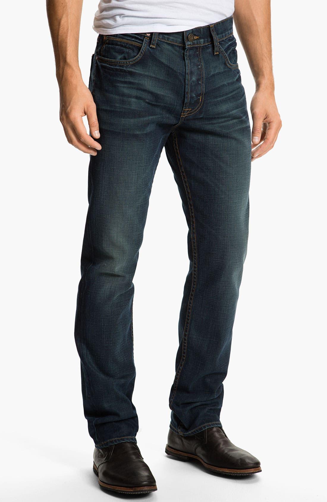 Alternate Image 2  - Hudson Jeans 'Dandy' Slouchy Straight Leg Jeans (Shovel)