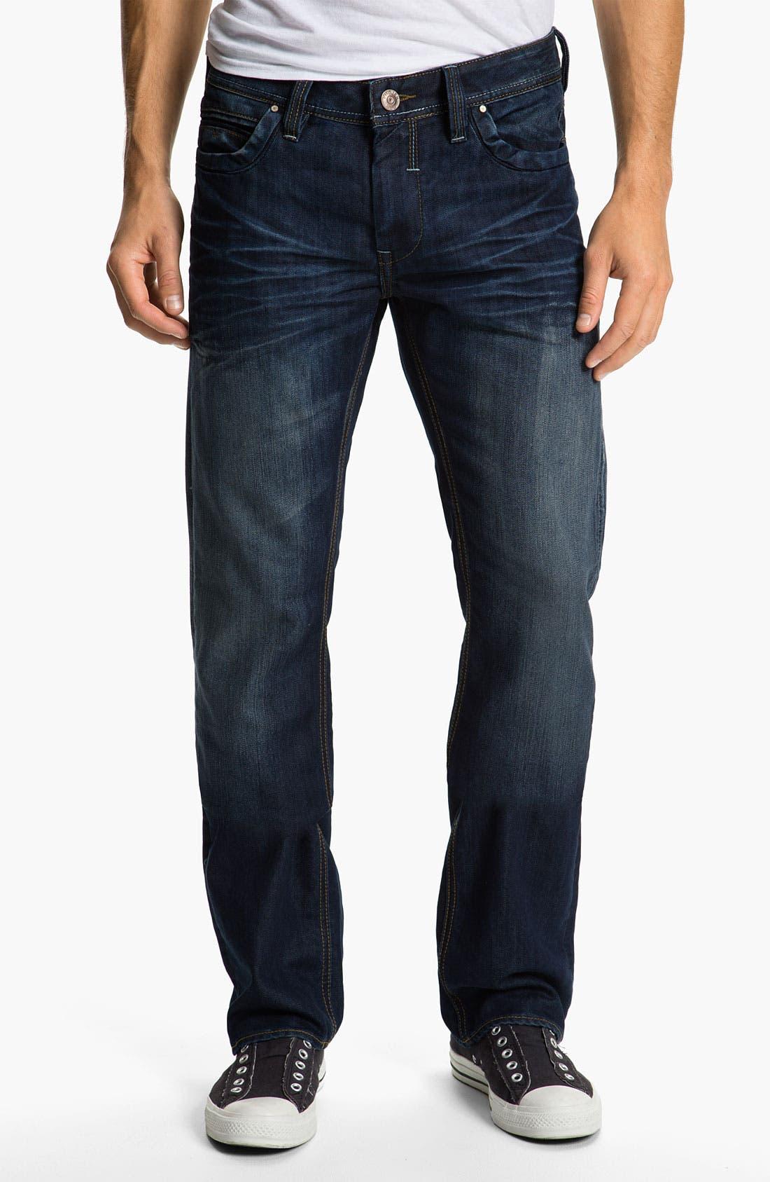 Alternate Image 2  - Projek Raw Relaxed Straight Leg Jeans (Blue)