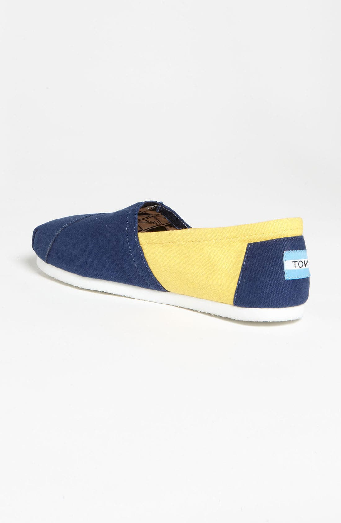 Alternate Image 2  - TOMS 'Campus Classics - University of Michigan' Slip-On (Women)
