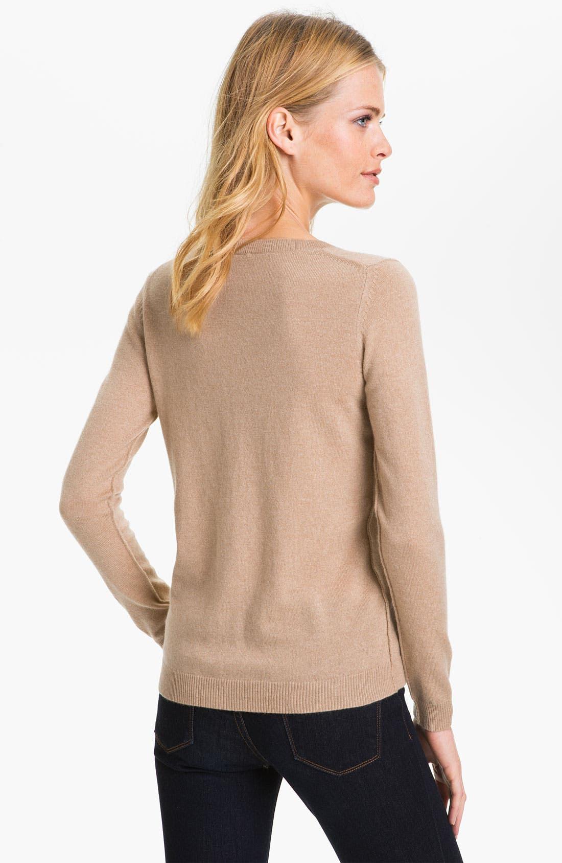 Alternate Image 2  - Theory 'Brandis' Cashmere Sweater