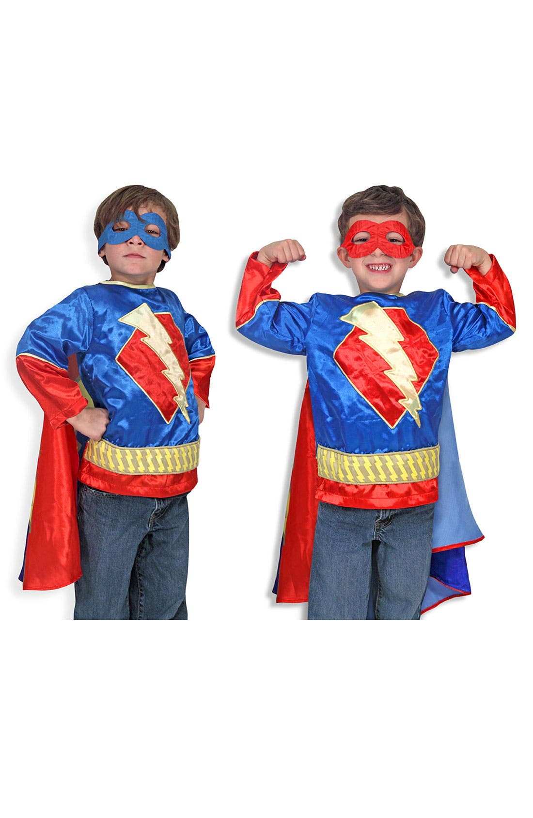 Main Image - Melissa & Doug 'Superhero' Costume (Toddler)