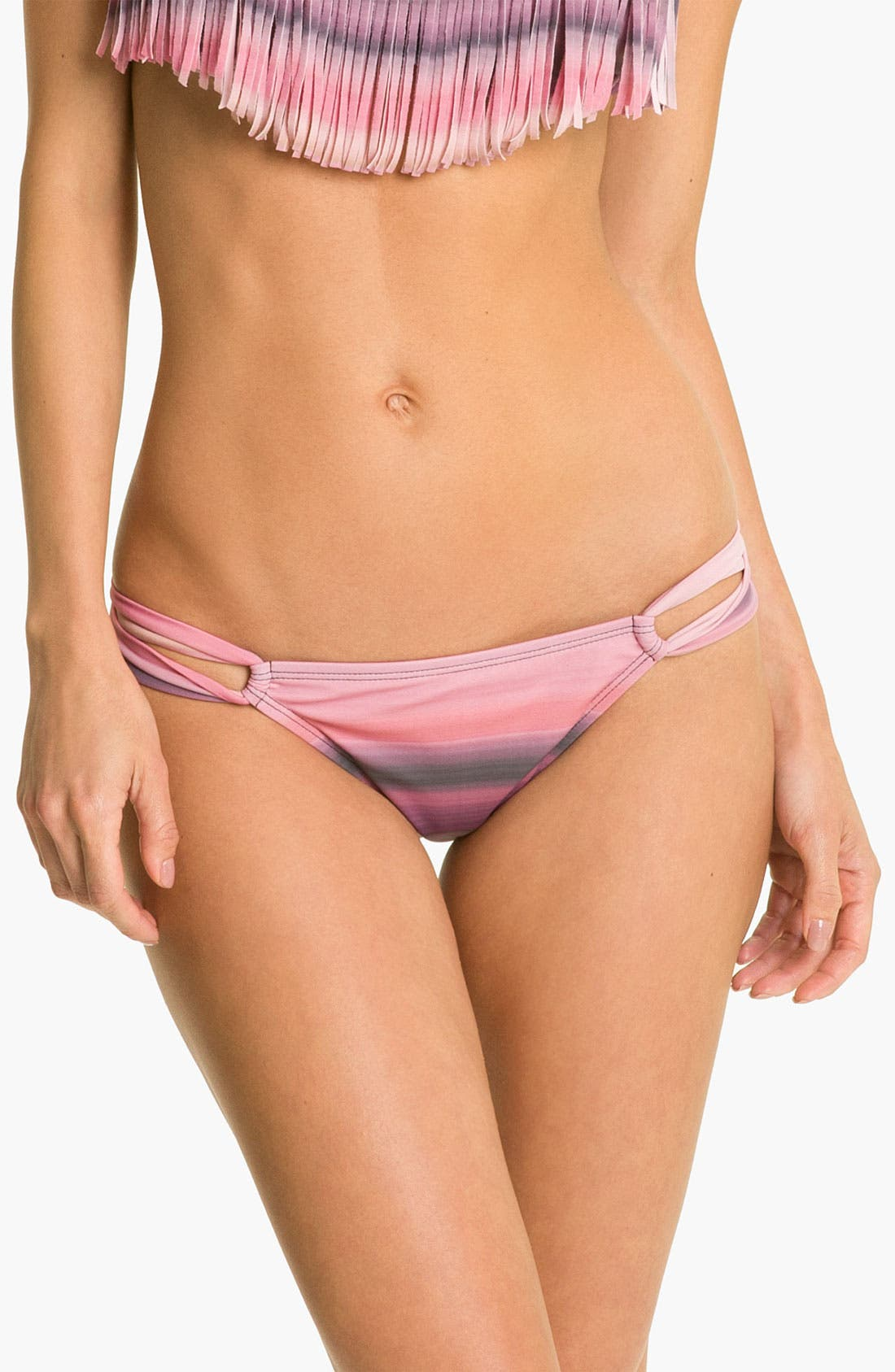 Alternate Image 1 Selected - L Space 'Taboo Ombré' Bikini Bottoms