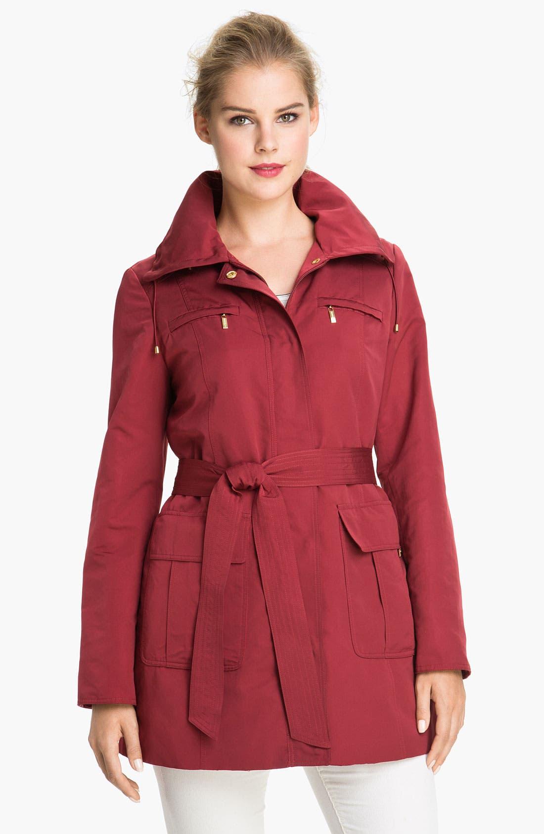 Main Image - Ellen Tracy Trench Coat with Detachable Liner (Online Exclusive)