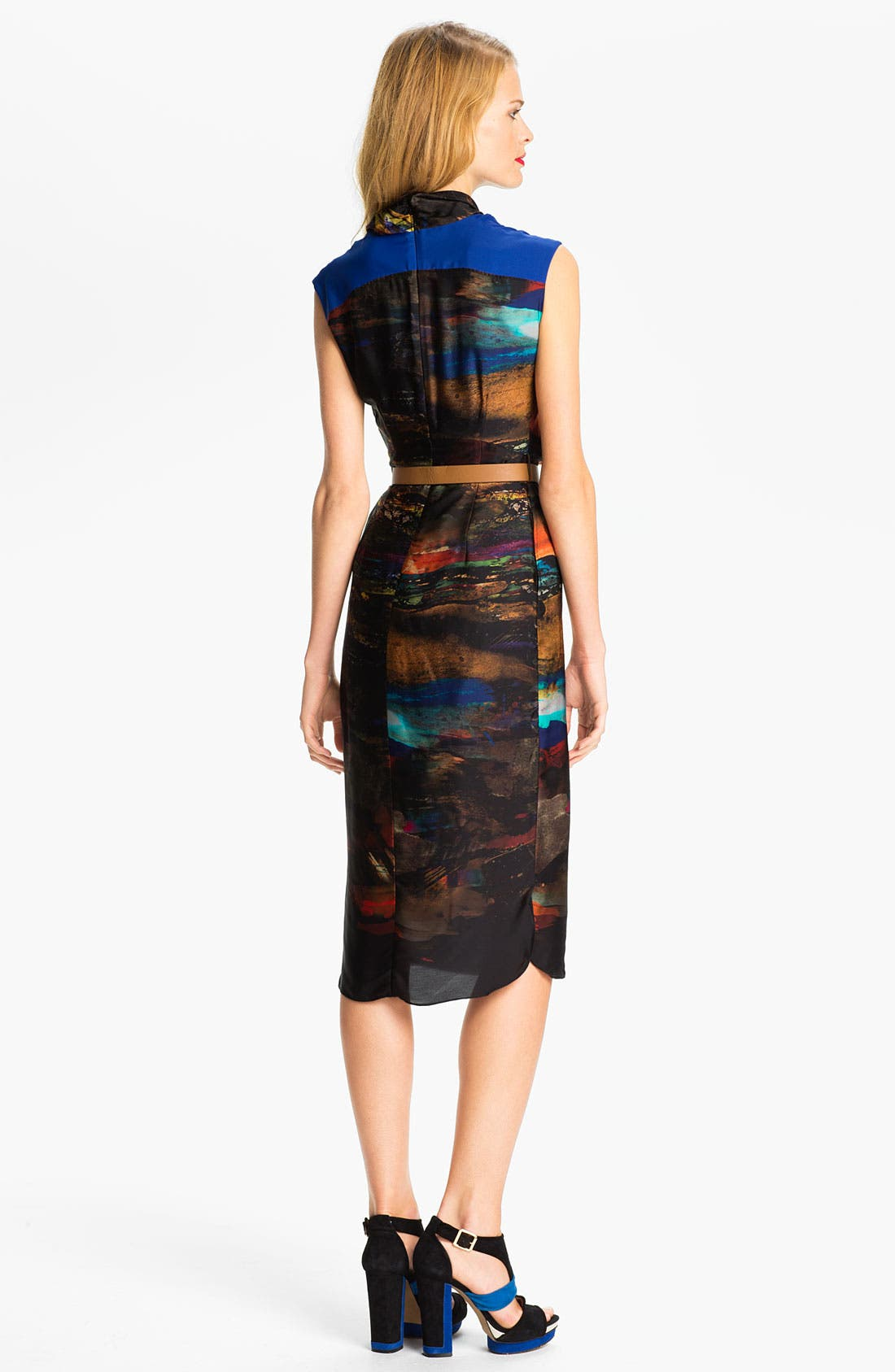 Alternate Image 2  - Ted Baker London Midi Sheath Dress