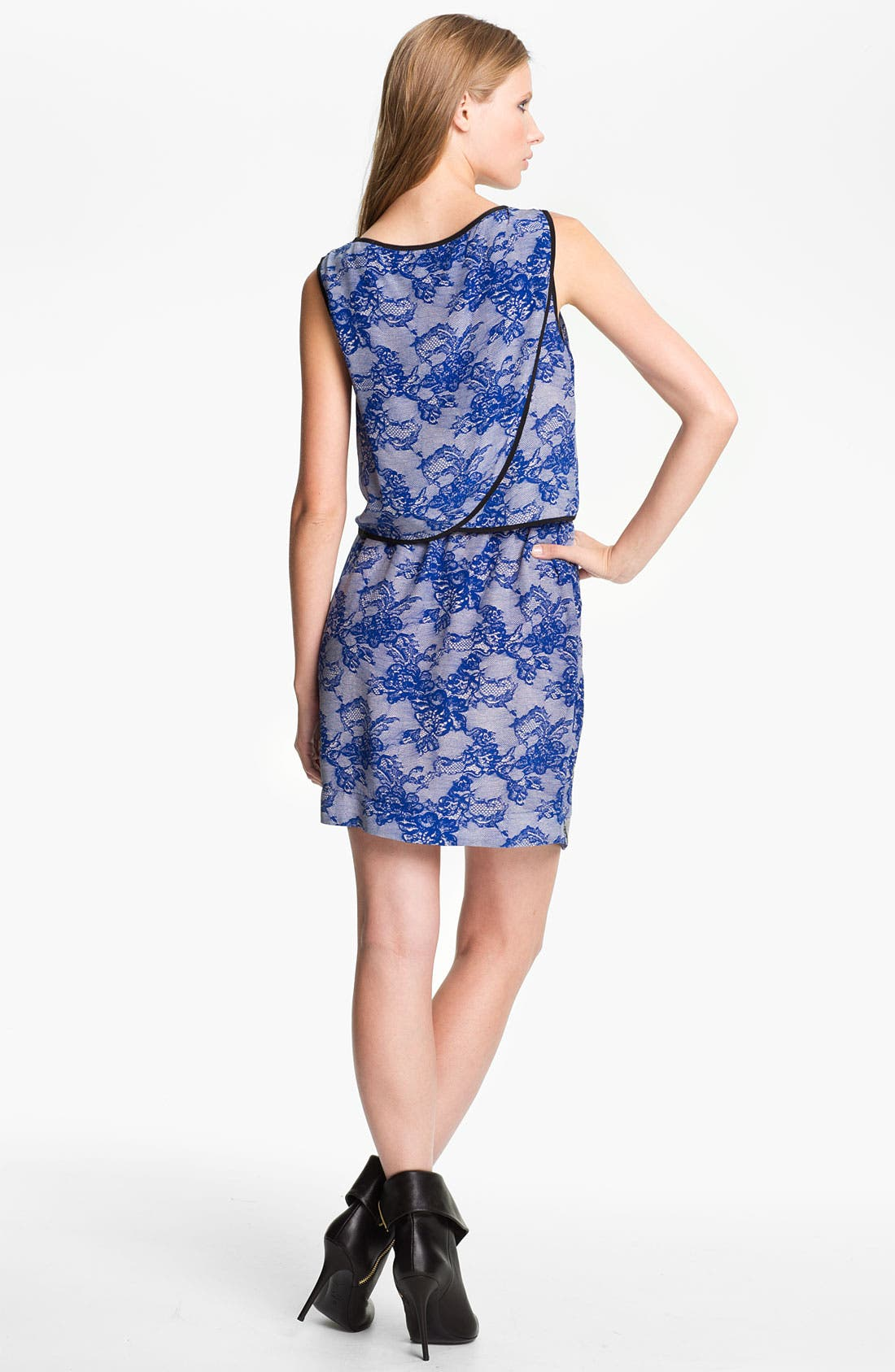 Alternate Image 2  - Cut25 Lace Print Dress