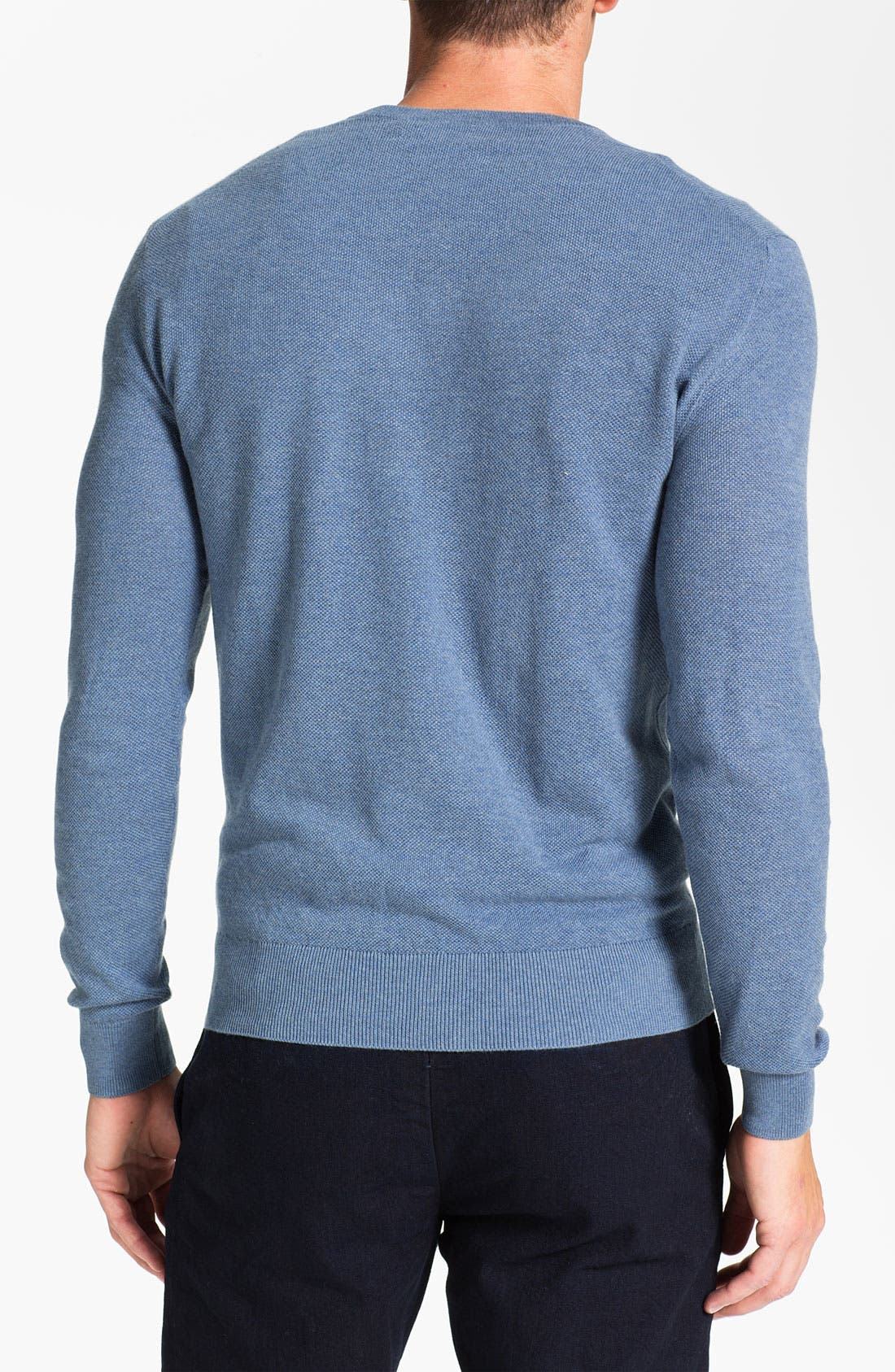 Alternate Image 2  - Polo Ralph Lauren V-Neck Cotton & Cashmere Classic Fit Sweater