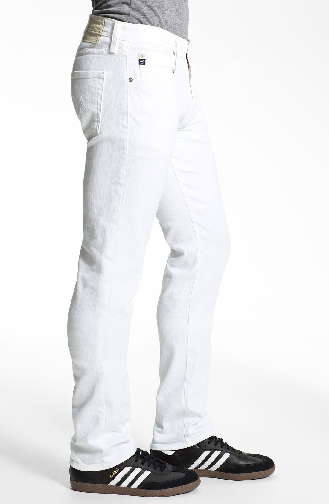 Alternate Image 3  - AG Jeans 'Matchbox' Slim Fit Jeans (White)