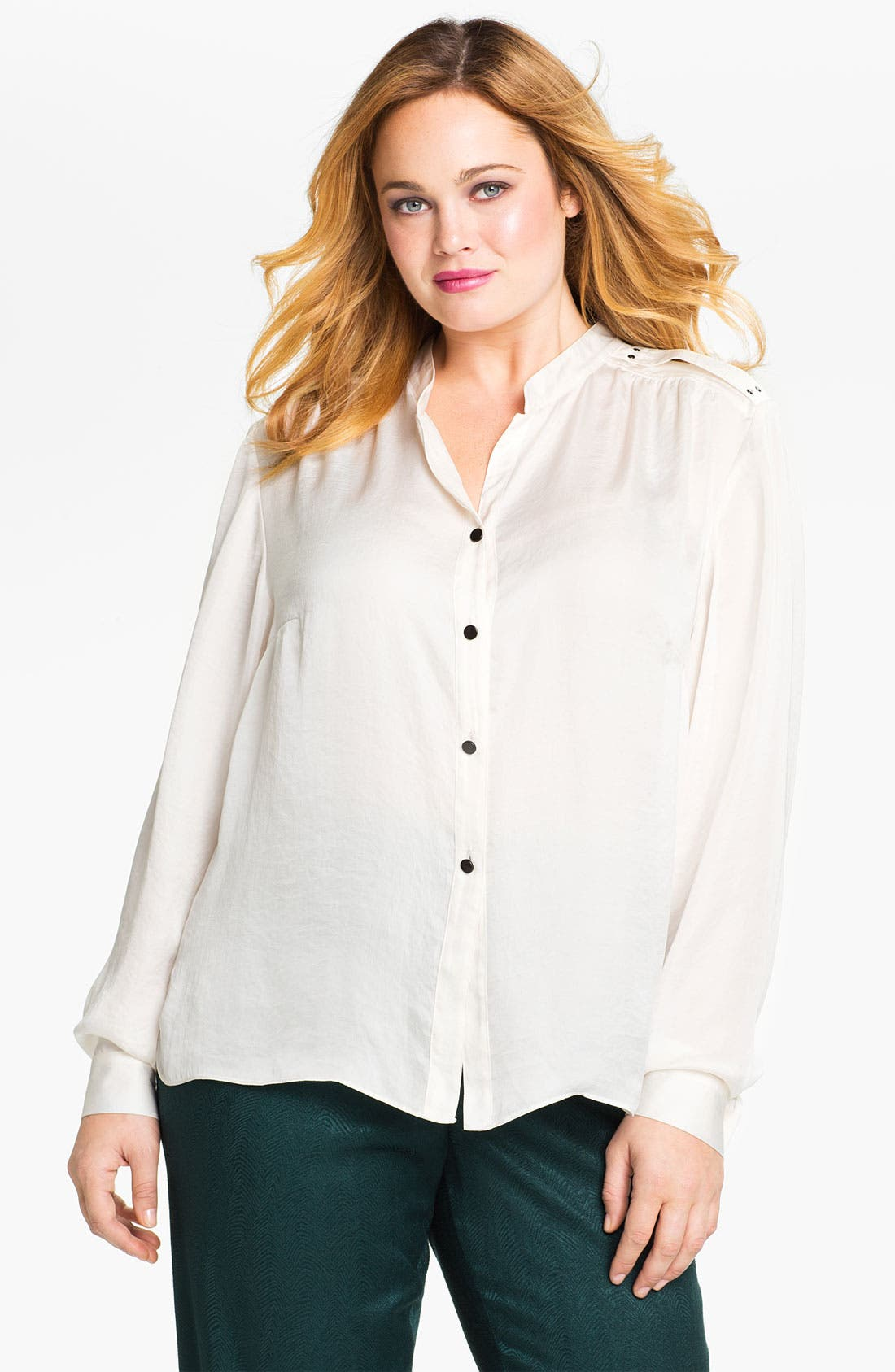 Alternate Image 1 Selected - Kenneth Cole New York 'Alyssa' Shirt (Plus)