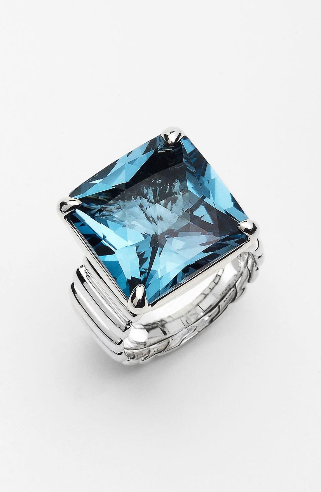 Alternate Image 1 Selected - John Hardy 'Bedeg' Large Square Ring