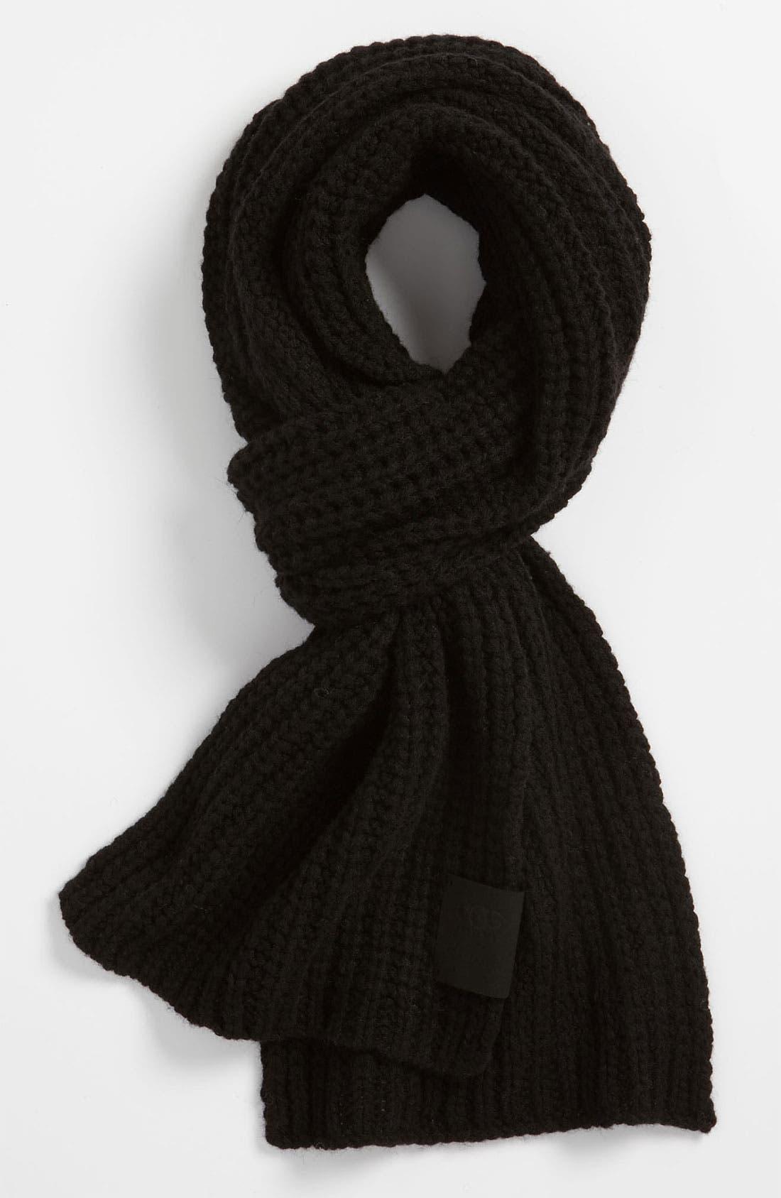Alternate Image 1 Selected - UGG® Australia Chunky Rib Knit Scarf