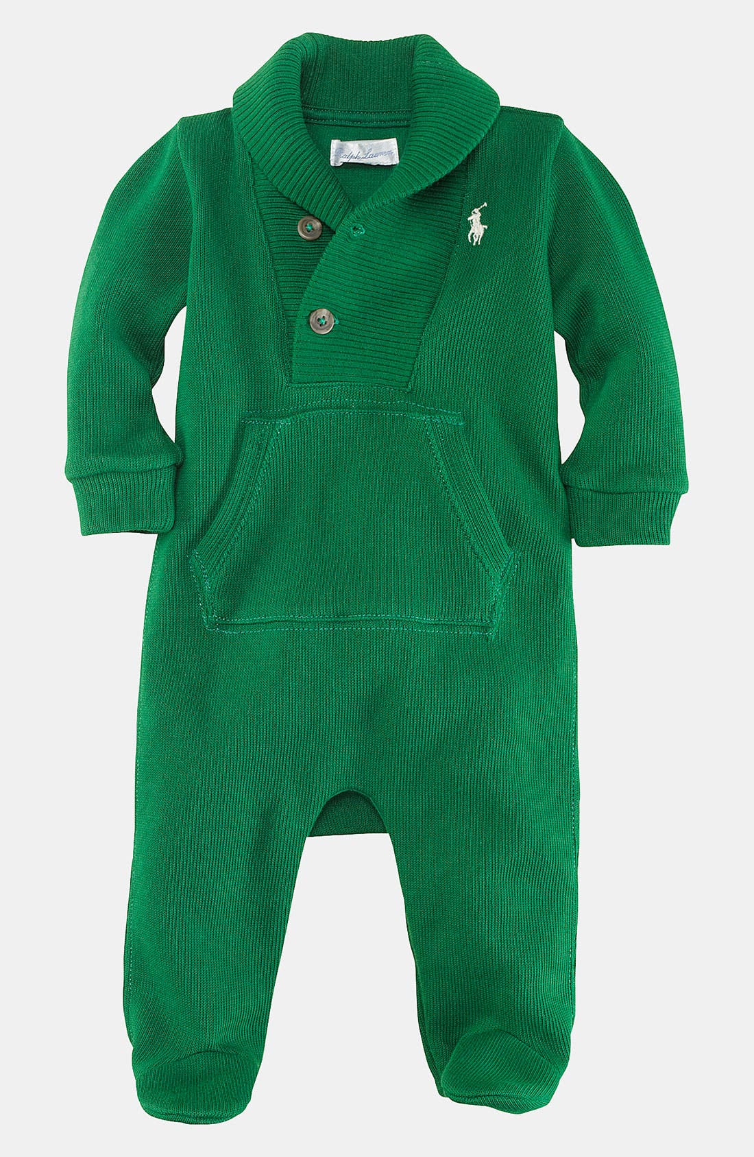 Alternate Image 1 Selected - Ralph Lauren Footie (Infant)