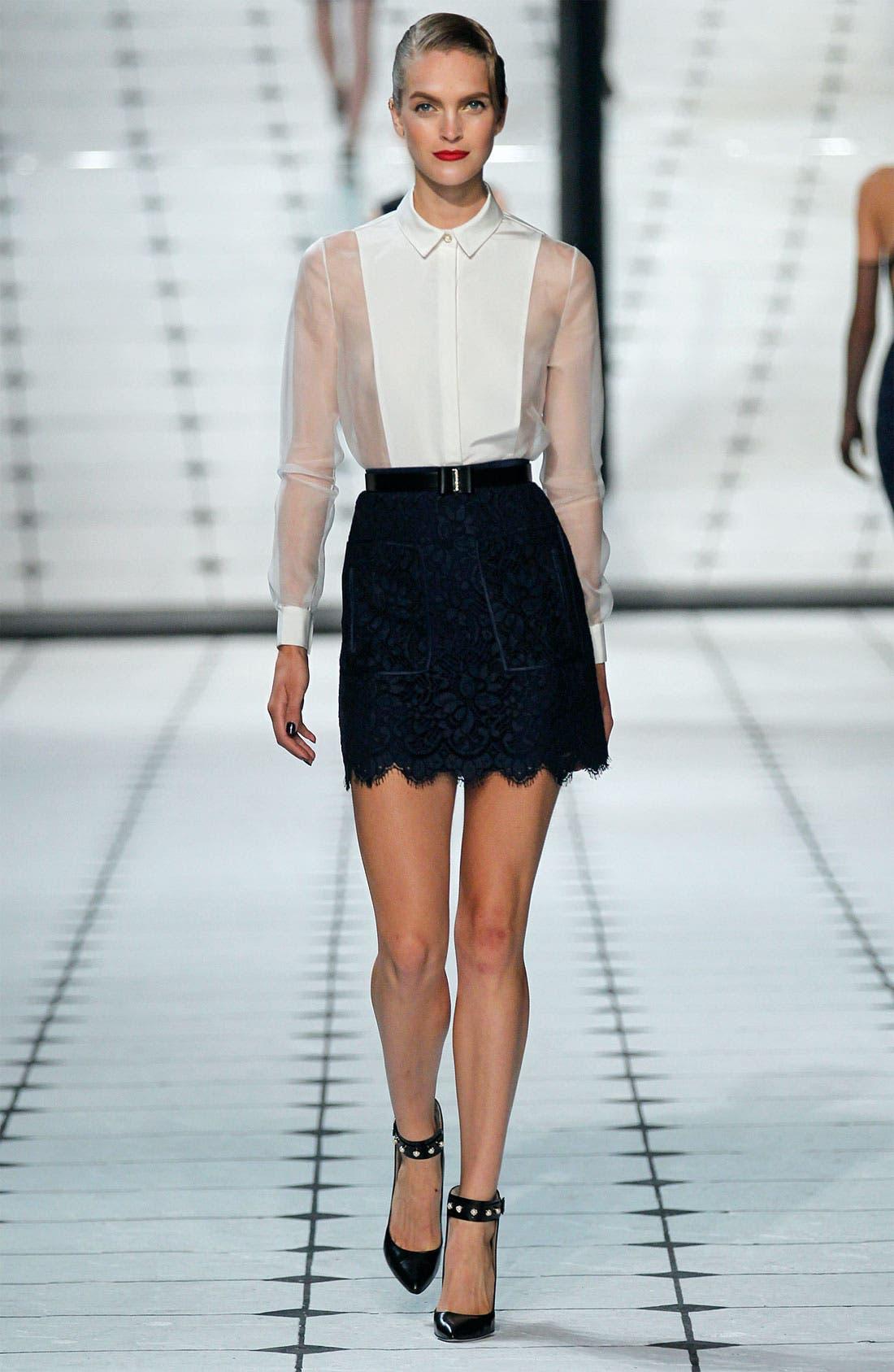 Alternate Image 3  - Jason Wu Patch Pocket Lace Skirt