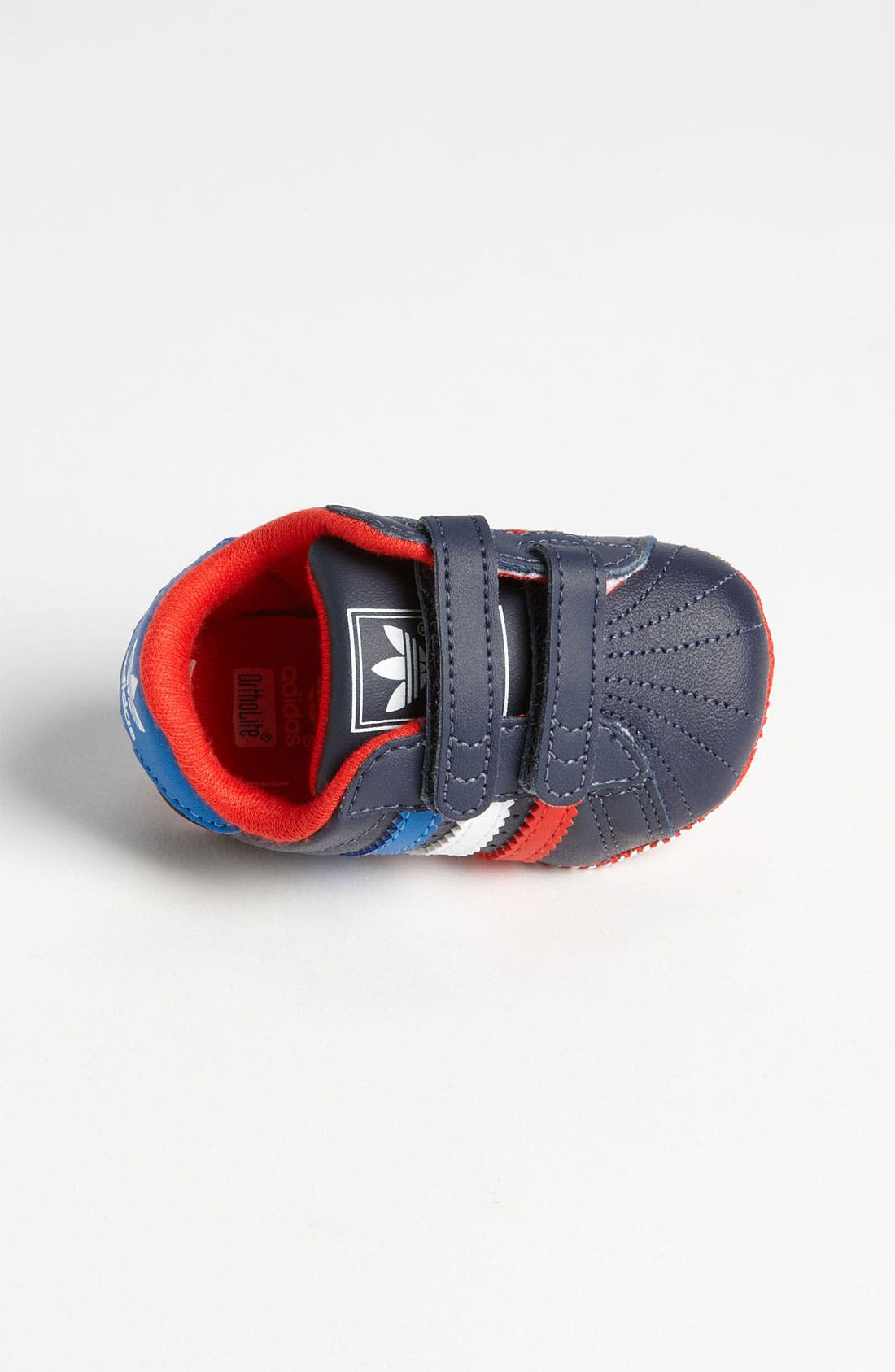 Alternate Image 3  - adidas 'Superstar 2' Crib Shoe (Infant)