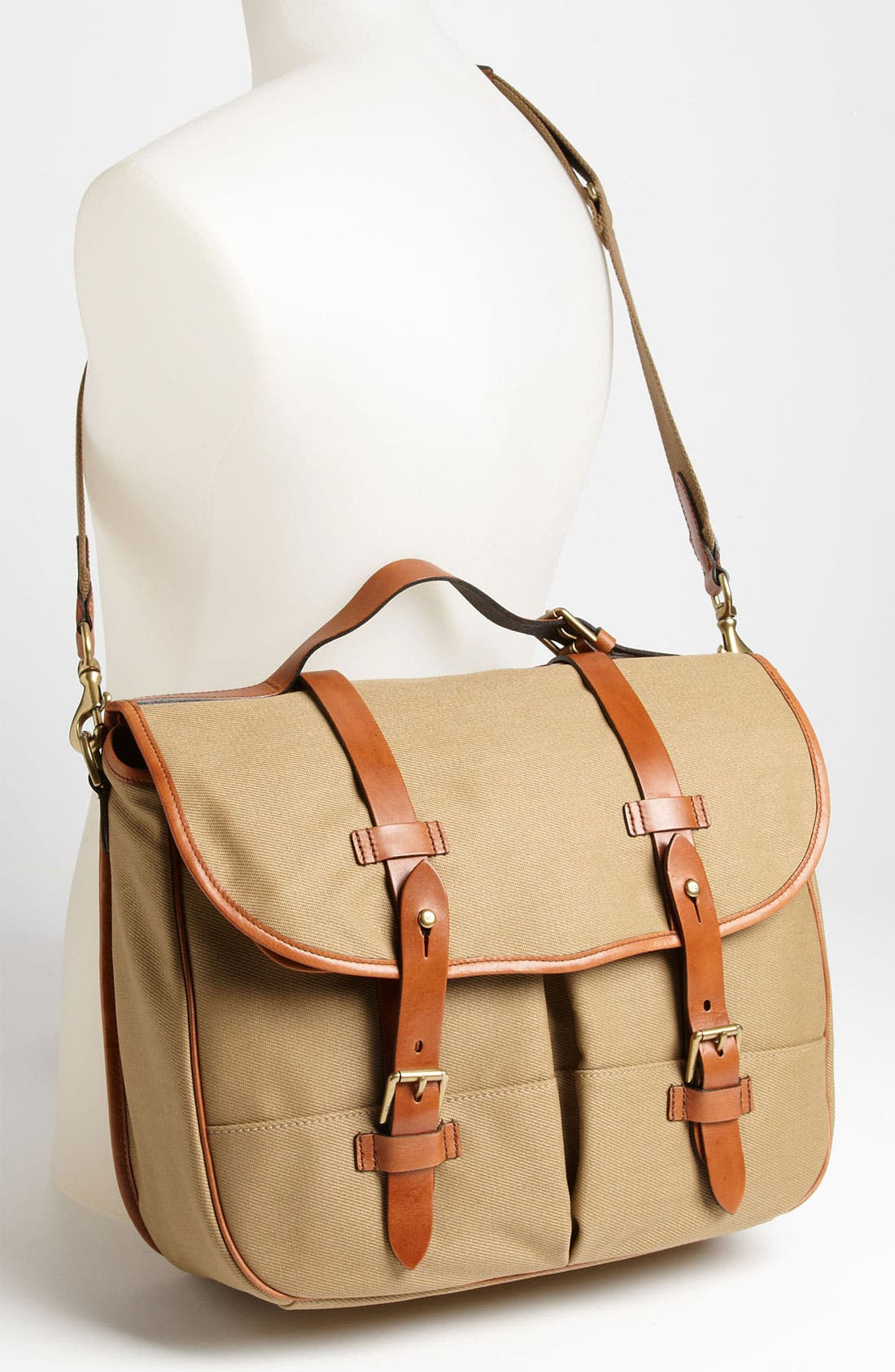 Alternate Image 4  - Polo Ralph Lauren Canvas Messenger Bag