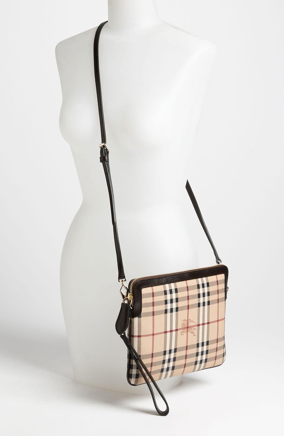 Alternate Image 2  - Burberry 'Haymarket Check' iPad Crossbody Bag