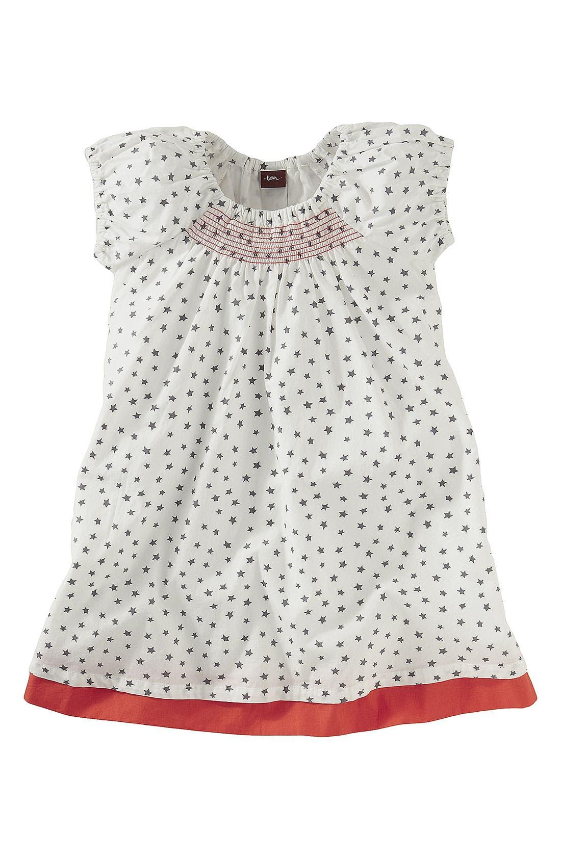 Main Image - Tea Collection Smocked Dress (Infant)