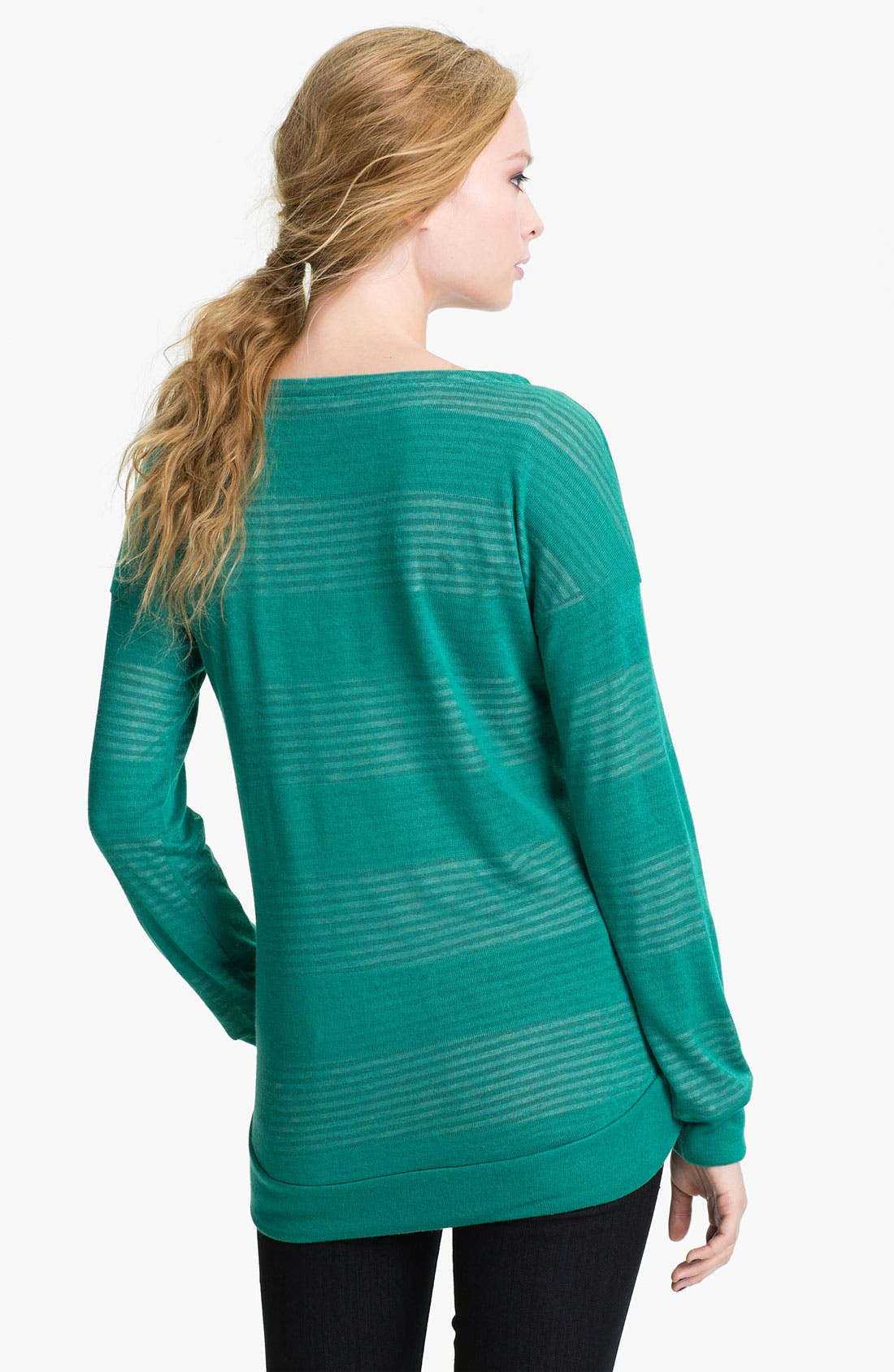 Alternate Image 2  - Splendid Double Knit Stripe Top