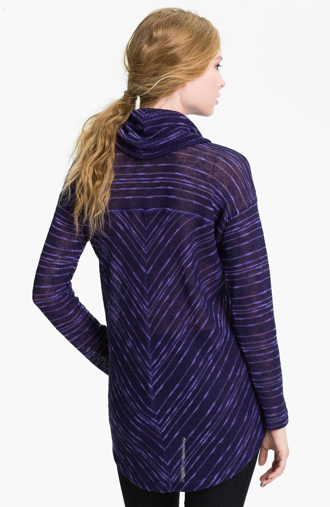 Alternate Image 2  - Splendid Stripe Cowl Neck Sweater