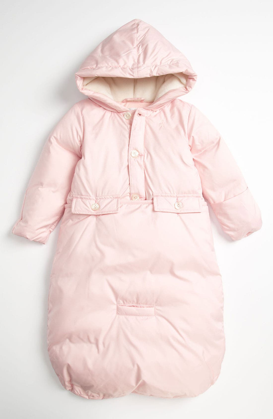 Alternate Image 1 Selected - Ralph Lauren Quilted Bunting (Infant)