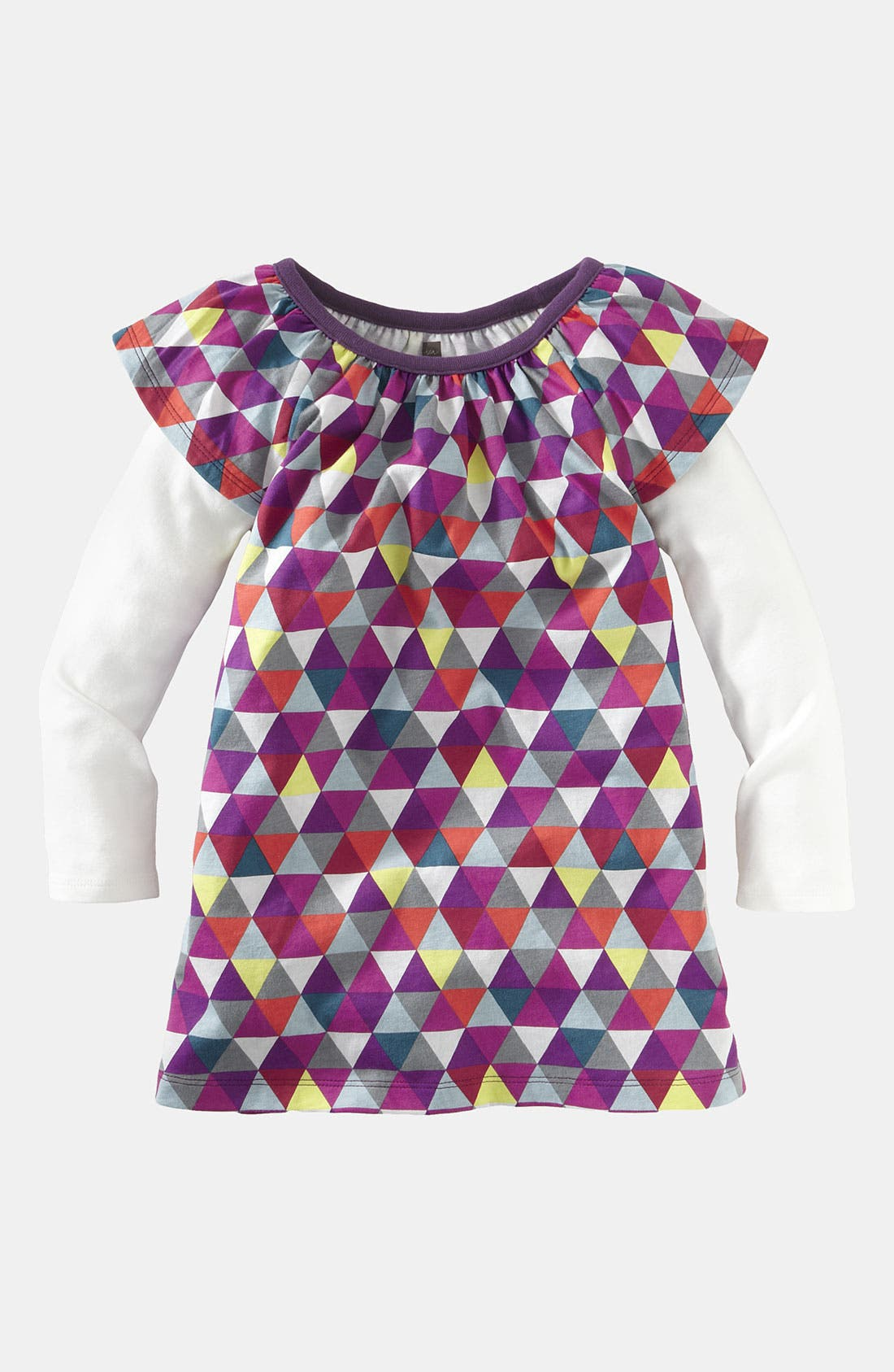 Main Image - Tea Collection 'Mode Triangle' Dress (Little Girls & Big Girls)